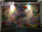 抽象个性墙绘