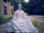 柳公权雕塑