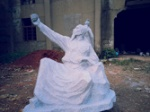 欧阳询雕像